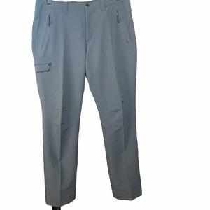 PATAGONIA Womens Cargo Hiking Grey Pants Size 12